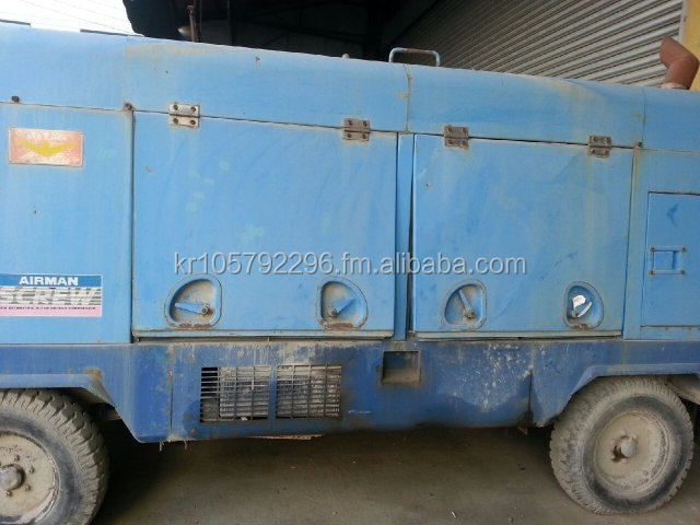 Used compressor AIRMAN PDS750