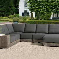 Evergreen Wicker Furniture Thickness Cushion Outdoor