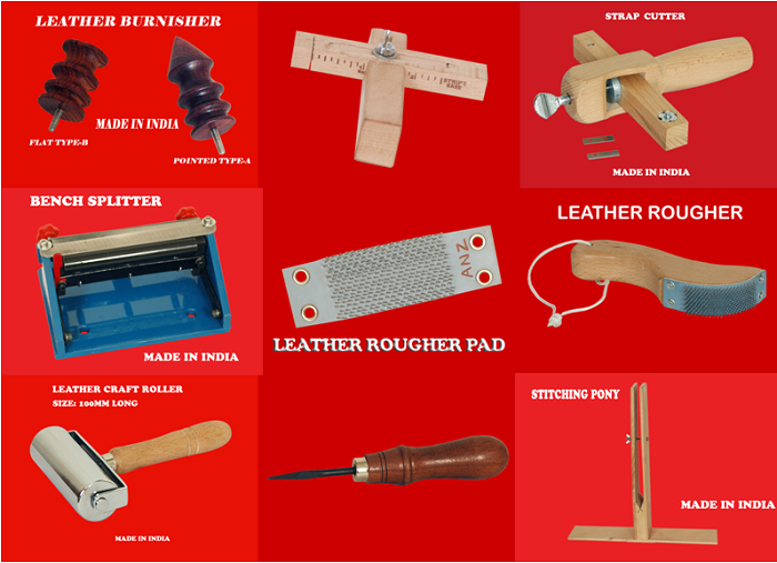 Hot Demanded Leather Craft Hand Tools for Leather Work at Reasonable Rate