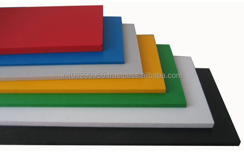 PVC Foam Sheets, low flammability and abrasion resistant, for fire retardant applications