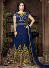 Anatkali suits wholesale suppliers in surat - Silk anarkali suits - Latest karachi anarkali suits - Anarkali dress