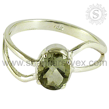 Gorgeous Green Amethyst New Fashion 925 Sterling Silver Engagement Rings for Women Jewellery RNCT2222-38