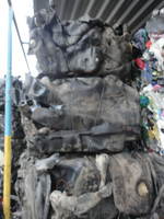 FUEL TANKS baled unwashed recycled plastic scraps