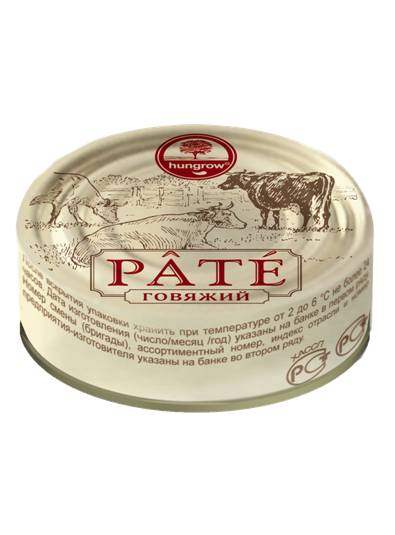 Pate HUNGROW PATE beef [can 95g*12]