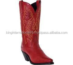 Horse leather riding boots