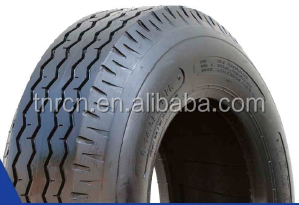 Nylon truck tire for on road use