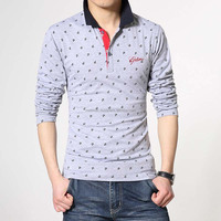 NEW Cheap Long Sleeve Polo Shirt For Men