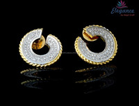 Exclusive diamond earrings - CZ Stone fancy earring - Diamond earrings - imitation jewellery - American diamond jewellery