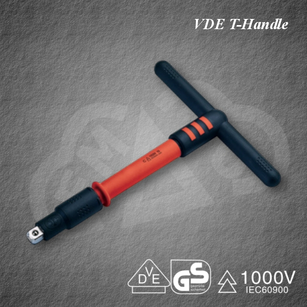 Powerful and Safe VDE T-Handle Insulated tool for industrial use, made in Japan