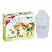 Best seller, Detoxification product ,Super Fiber 10's+1's Free Shaker