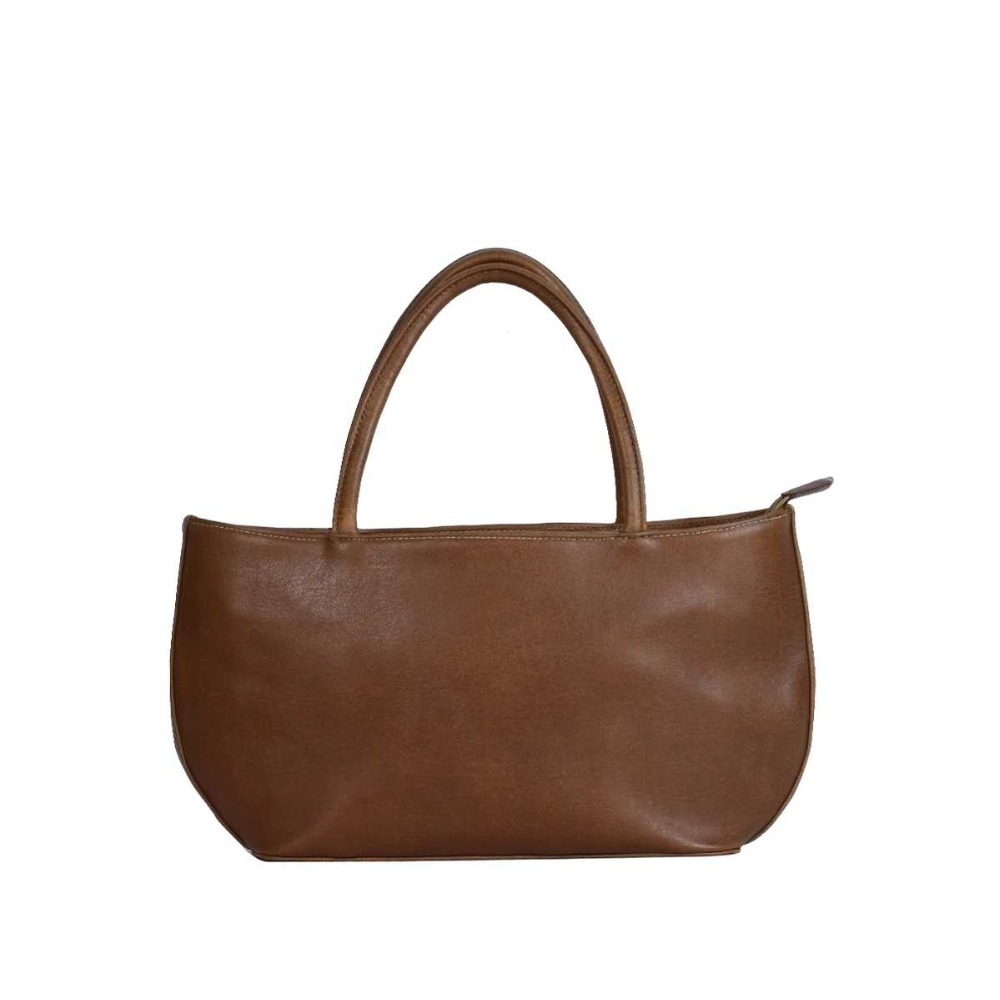 Leather Handbag brown