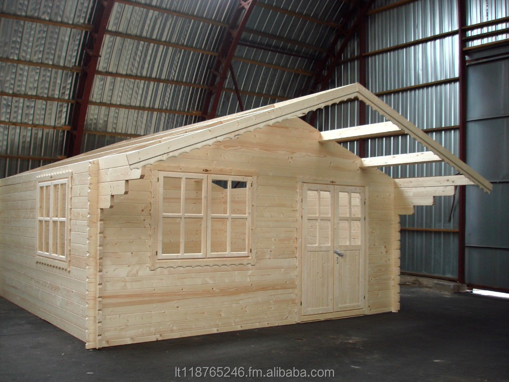Summer Garden House Office Wooden Log Cabin Production