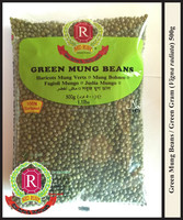 Green Mung Beans / Green Gram / Vigna radiata (Red Ruby)
