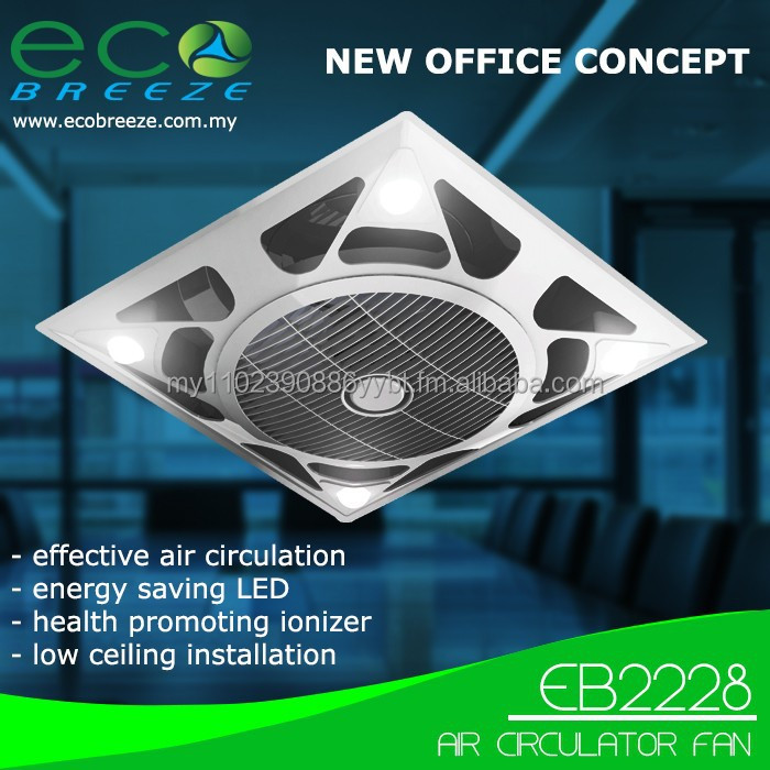 Air Circulator Fan EB2228 with LED and Ionizer