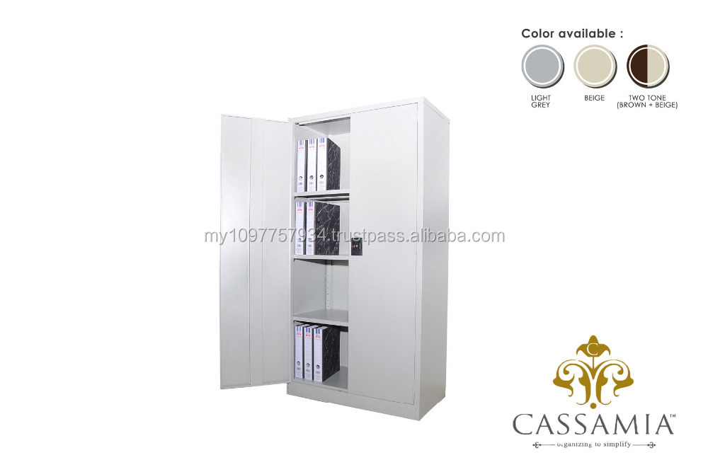 Full Height Cupboard with Steel Swinging Door
