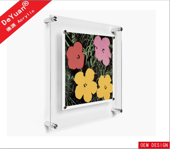 Suqare 20 inch clear acrylic digital photo frame new models