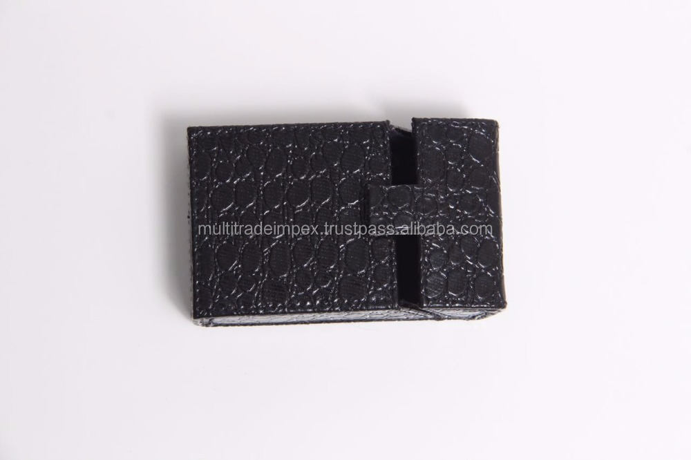 leather cigarette box (pu) for all brands available