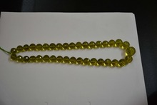 Green gold strand / necklace Best quality