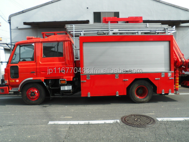 Used fire truck Right hand drive - Japanese Rescue truck