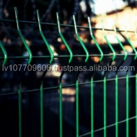 3D Euro panel fence