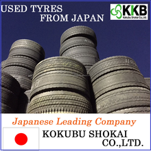Japanese High Grade big truck tire for sale, casing tire with high performance