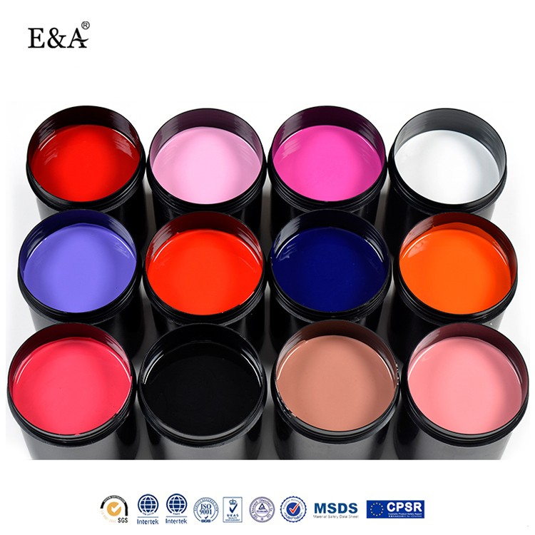 EA Nail art designs raw material wholesale organic gel nail polish bulk gel nail polish