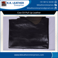 Cow Oil Pull Up Genuine Leather from Textiles & Leather Products Supplier
