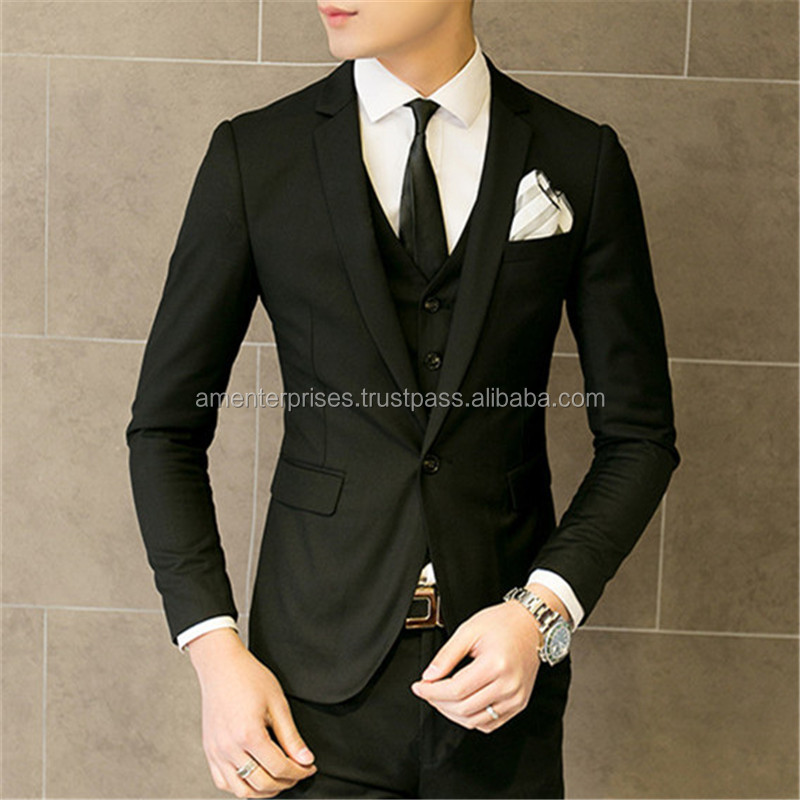 2016 New Style 3 piece Men Coat Suits
