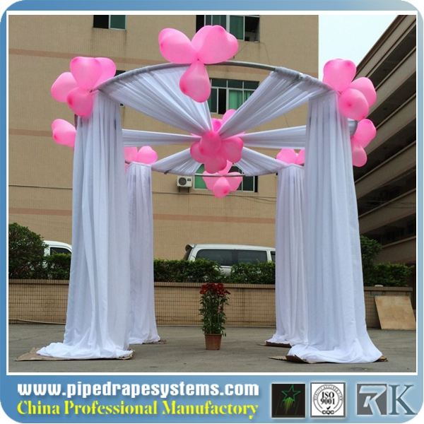 portable cheap pipe and drapes for wedding event party trade show photo booth