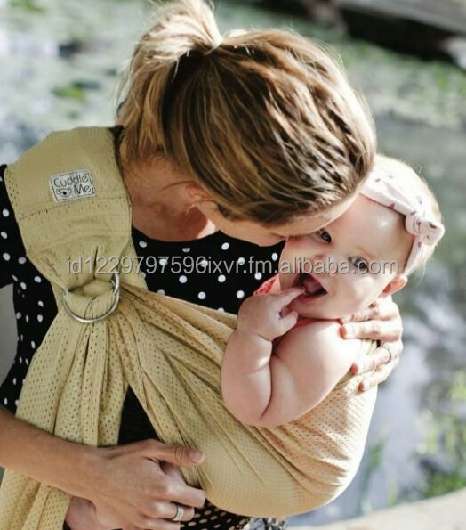 Breathable Baby Sling Cute Baby Wrap Carrier for hip Carry Babywearing