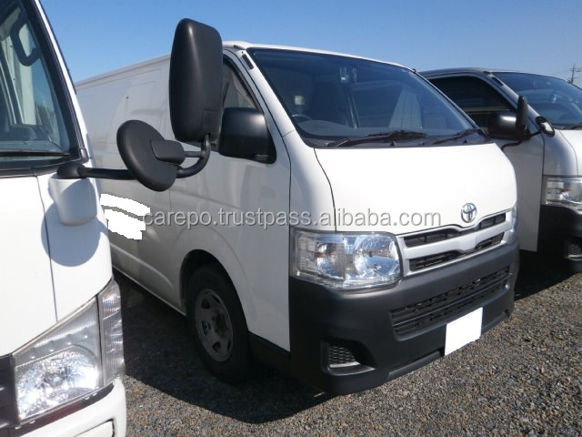 SECOND HAND DIESEL VAN FOR SALE FOR TOYOTA HIACE QDF-KDH201V 2013