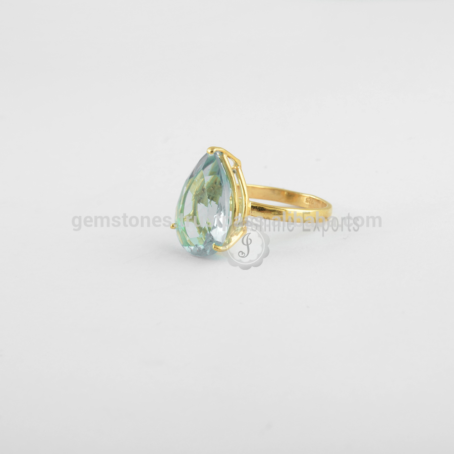 Handmade Best Quality Gemstone Prong Set Rings Manufacturer, Wholesale Natural Gemstone Rings Jewelry Supplier