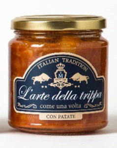 L'Arte della Trippa - Ready Meal Beef Tripe with Potatoes 280 g