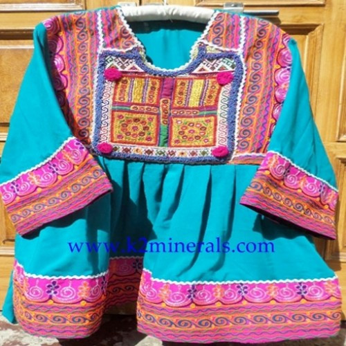 Handmade bohemian traditional kuchi afghan dress banjara20