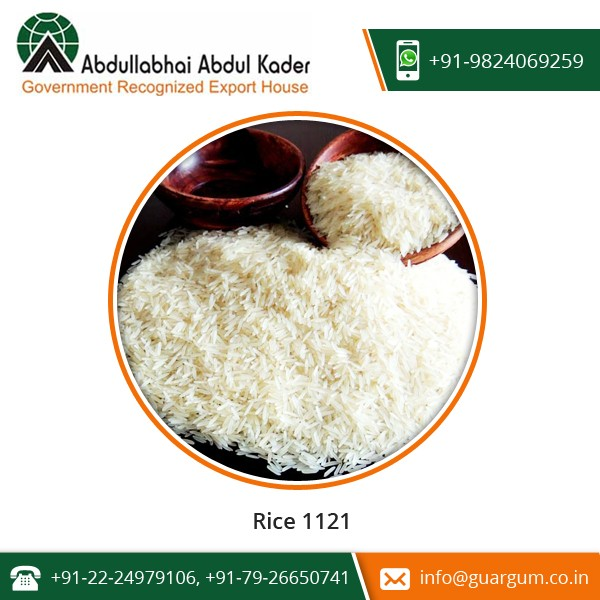 Newly Arrived Easy to Cook Basmati Rice 1121 for Sale