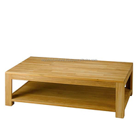 Manufacturer Wooden Coffee Table Solid Indoor Furniture Jepara