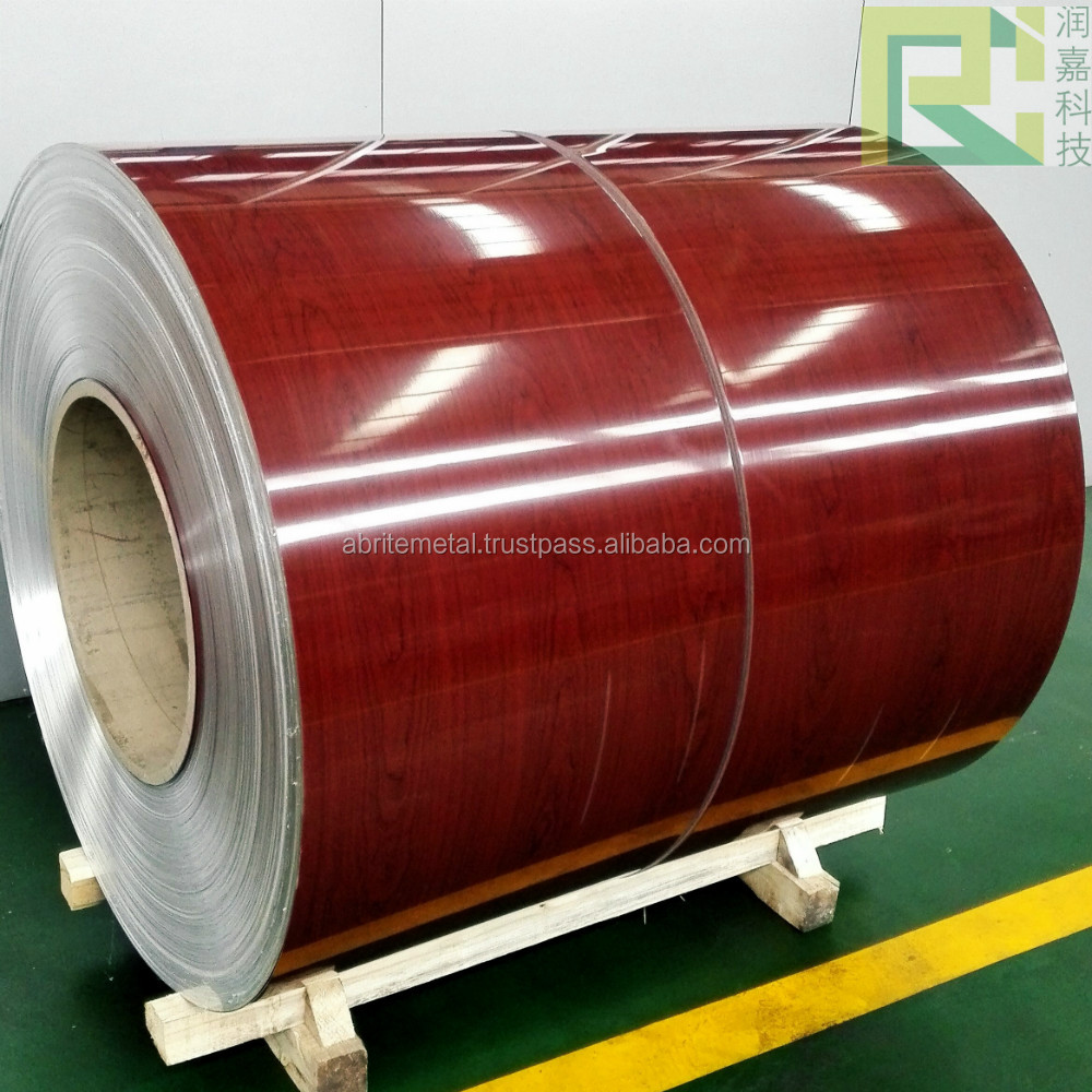 3003 series Metal color coated aluminum coil for decoration