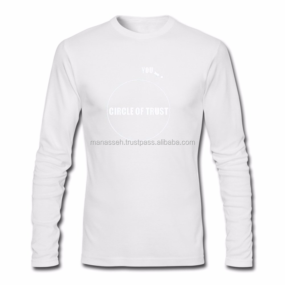 Men White Long Sleeve T Shirts Plain - Buy Tight Fit Long Sleeve T ...