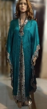 "Hartati Heritage's Indonesia Traditional Gamis Batik Long Dress ""Semi-Silk"""