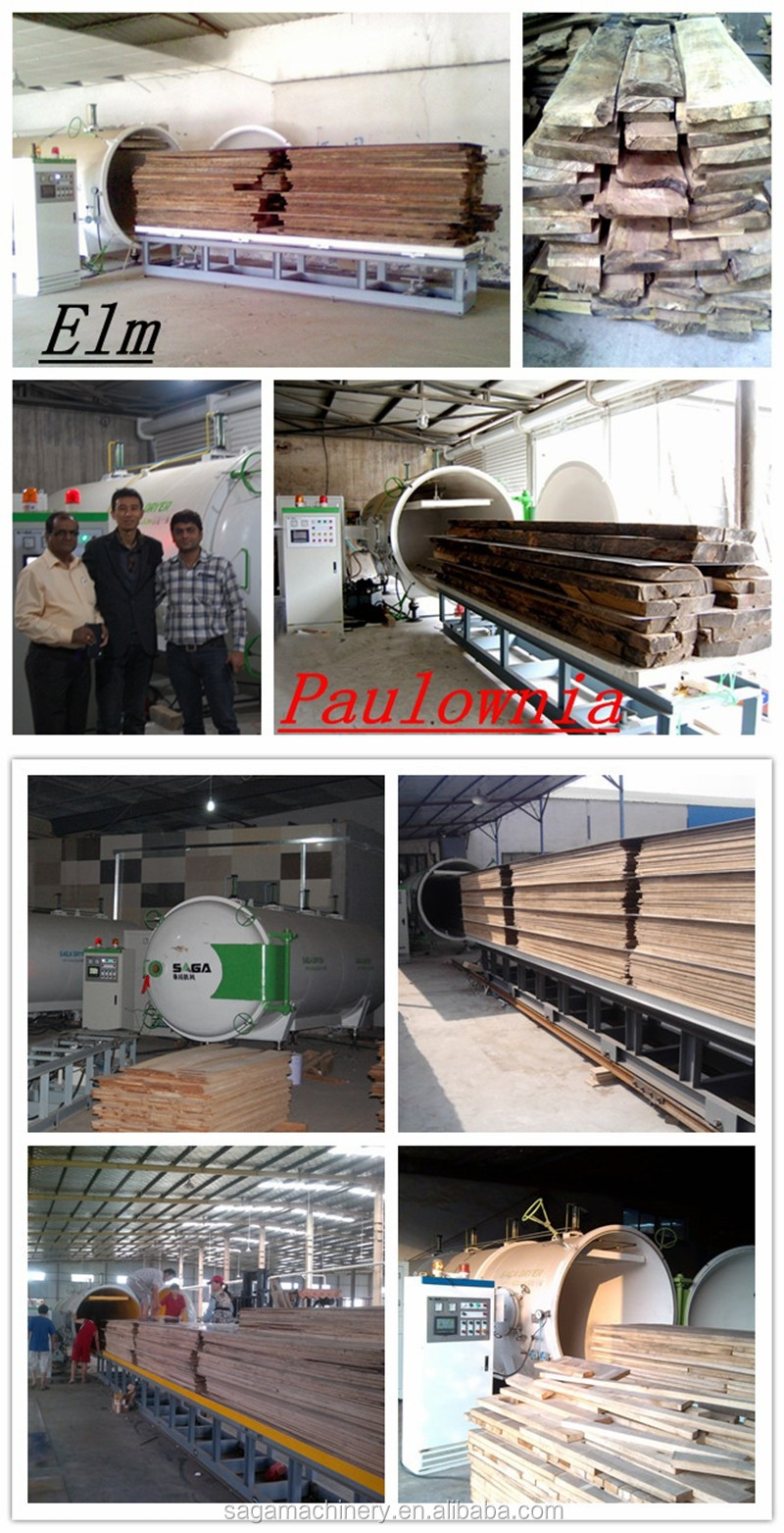 3CBM Vacuum and Radio-Frequency Drying Kiln of Wood(HFVD30-SA)