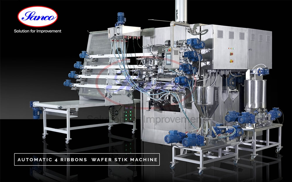 Hollow Wafer Stick Machine