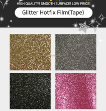 Glitter Hotfix Film Hotmelt Tape