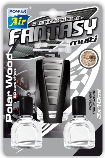 Fantasy multi car air freshsner 3 refills
