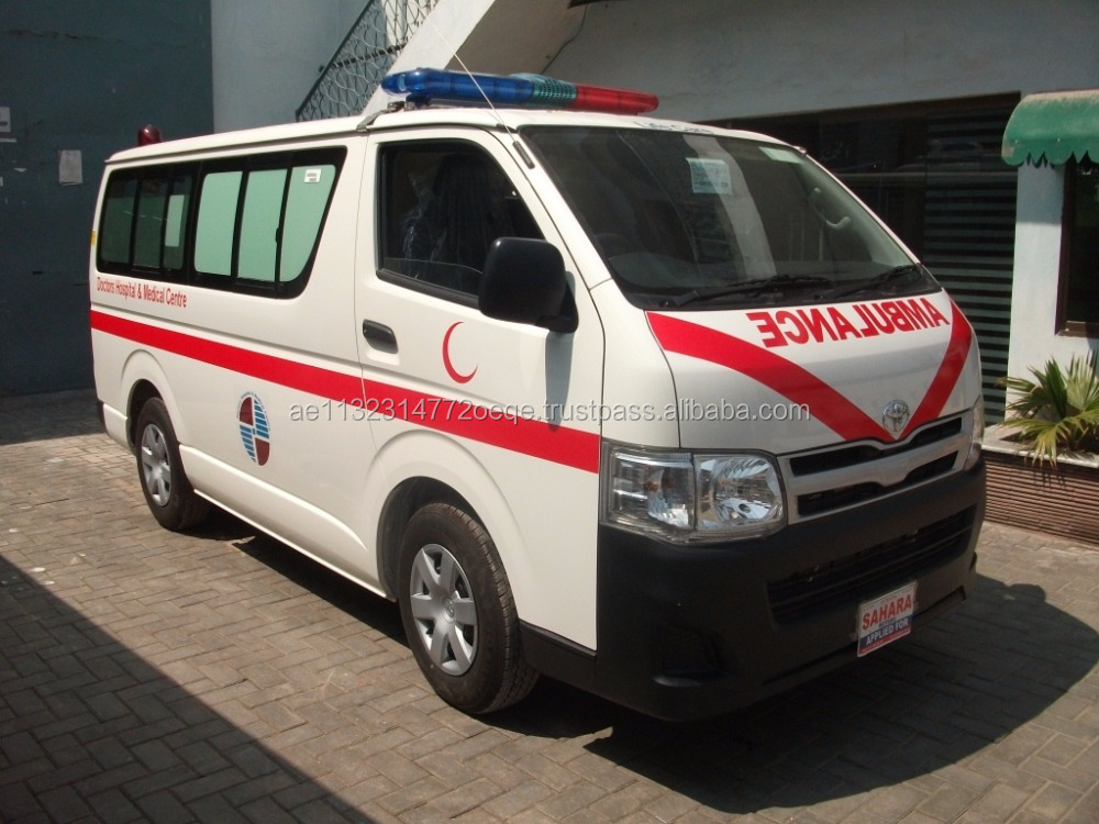 TOYOTA HIACE AMBULANCE WITH STANDARD PACKAGE