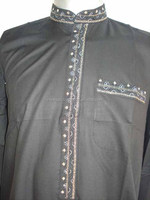 Mens embroidered kurta / pakistani mens kurta / mens kurta shalwar