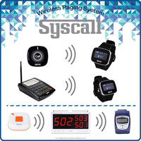 Wireless pager system Direct watch pager