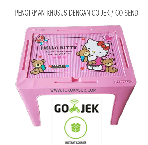 Hello Kitty Plastic Student Desk