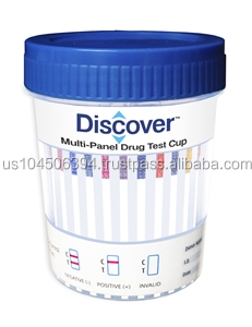 Discover 12 Panel Cup (Case of 25) (CLIA Waived)- COC/MET/AMP/THC/MOP/OXY/MTD/BAR/BZO/MDMA/PPX/BUP