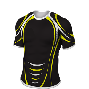 embroidery dry fit sublimation new zealand fiji custom rugby jersey with black color