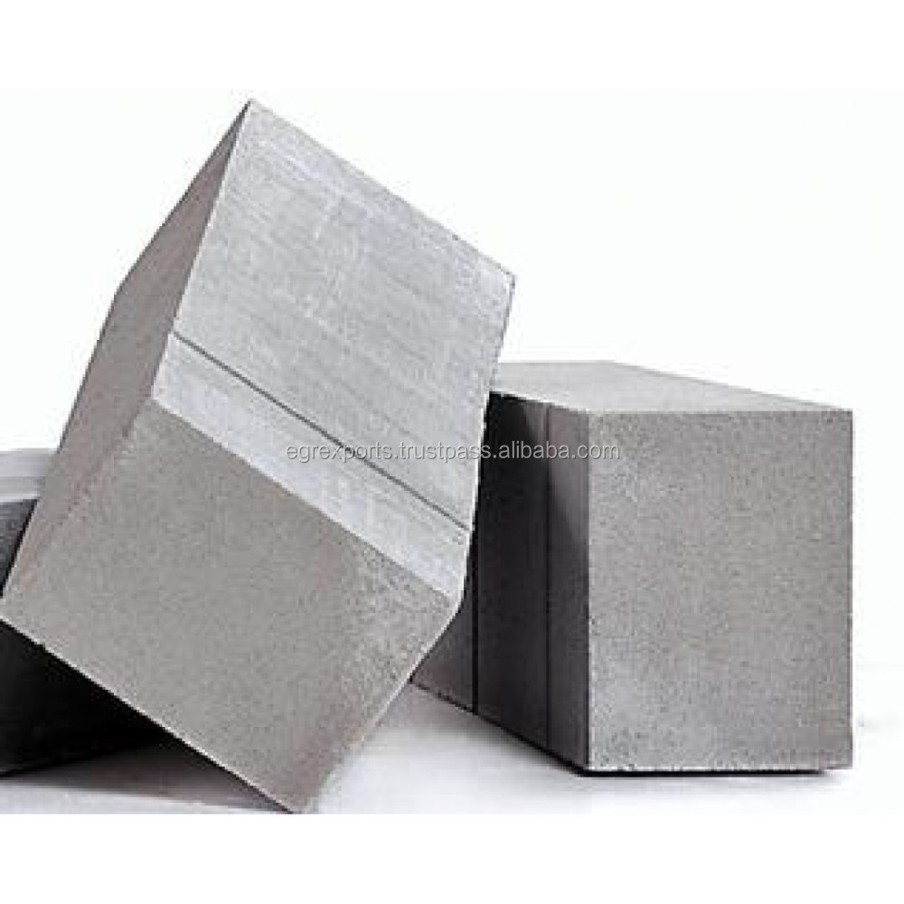 AAC - Autoclaved Aerated Concrete Blocks